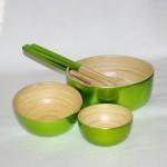 gröna skålar